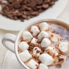 Spiked hot chocolate, anyone? Recipe up on BECAUSE IM ADDICTED! #thenextstep