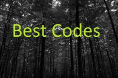 "This instructable is filled with tons of cool codes and ciphers I'm sure all of you will enjoy.For more awesome codes and cipher go to my website bestcodes.weebly.com or visit bestcodesgame.weebly.comto practice decoding Also visit my other instructable ""Movie Codes"" or see them here athttp://bestcodes.weebly.com/movie-codes.html"