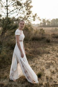 Robe de mariee dentelle de calais 2018