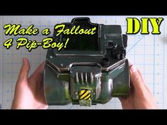 How To Make a Fallout 4 Pip-Boy - YouTube