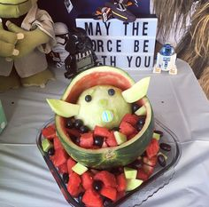 8th Birthday, Birthday Parties, Birthday Cake, Birthday Ideas, Diy Party, Party Ideas, Star Wars Food, Baby Shower Watermelon, Star Wars Baby