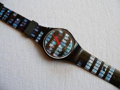 Swatch watch Overtime GB183  Designed By Bruce Mau