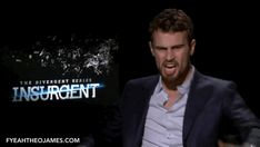 What the that's kinda scary Divergent Memes, Divergent Trilogy, Divergent Insurgent Allegiant, Theo James, Theodore James, Film Movie, Movies, Shailene Woodley, Explosions