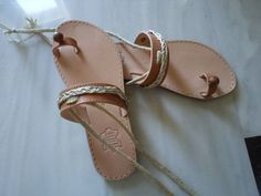 gaia sandal by tsarouchacollection on Etsy