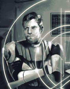 Obi-Wan Kenobi during the Clone Wars