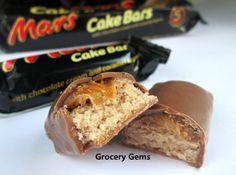 Mars Cake Bars
