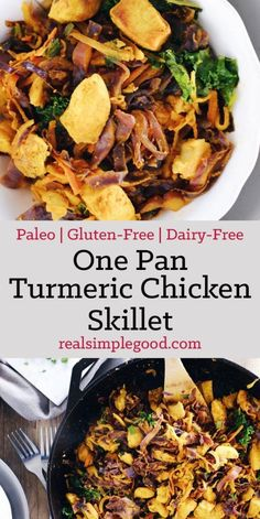 One Pan Turmeric Chicken Skillet (Paleo, GF + Dairy-Free)EmailFacebookInstagramPinterestRSSTwitter
