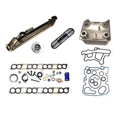 Pin 2004-2010 6.0L Ford Power Stroke * Exhaust Gas Recirculation / Oil Cooler Kit * # EGR500-3. Diamond Diesel is now offering the 6.0L Ford Power Stroke Truck owner the upgraded EGR and Oil cooler kit.  The EGR Cooler is Stainless Steel  and tig welded.  It comes with a LIFETIME Warranty.  Use promo code EGR15 to get a 15% discount off the price shown of $935.29 which includes a $125.00 refundable core charge.