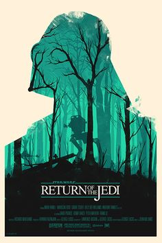 Olly Moss created these awesome Star Wars posters that feature Darth Vader, and Boba Fett! You can checkout more info on Olly Moss' Star Wars movie. Star Wars Poster, Film Star Wars, Star Wars Episoden, A4 Poster, Kunst Poster, Poster Series, Typography Poster, Poster Wall, Cool Posters