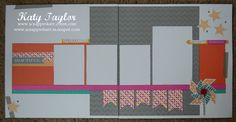 An Inside to my Heart...: Pinwheels SOTM Blog Hop... 2 page layout using 'Dream Pop'