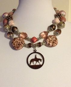 Chunky Cowgirl Necklace by CowgirlInspiration on Etsy, $60.00