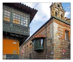 Wooden Balcony - Bogota, Bogota - Colombia