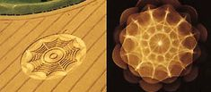 How crop circles are made by sound