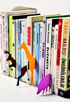 Eğlenceli kitap ayraçları. www.alldecor.com.tr