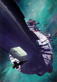 shear-in-spuh-rey-shuhn: JOHN HARRISStarhounds 1: The Infinite BattleAcrylic on Board15.5″ x 24.5″