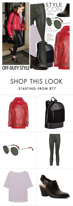 """How to Rock Off-Duty Model Style"" by smartbuyglasses-uk ❤ liked on Polyvore featuring Acne Studios, Want Les Essentiels de la Vie, Fendi, J Brand, Juvia, Chinese Laundry and offduty"