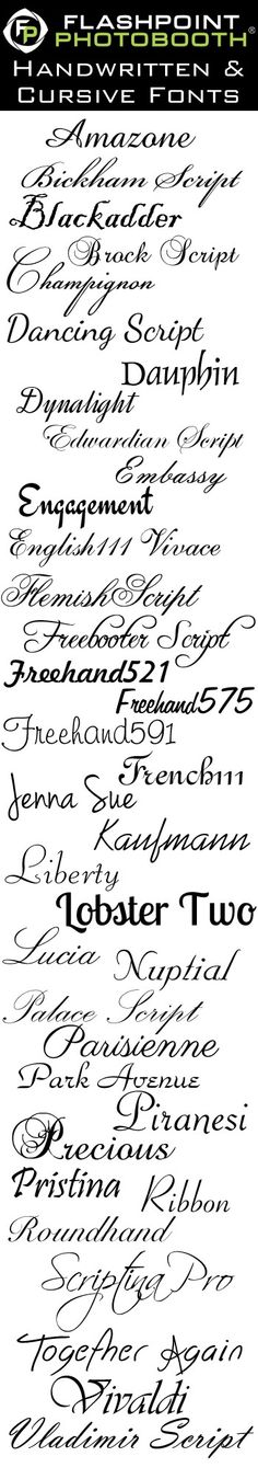 @missmandi88 I like Dancing Script, Liberty, and Ribbon. What do you think of one of these for our tattoo?