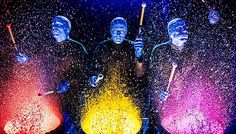 The avant-garde Blue Man Group combines theatrics, art, music and science to create an interactive, wild and percussion-driven experience full of humor and energy.