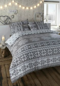 Your bedroom decor should express your style and personality. Fill your space with snuggly blankets, patterned bedspreads and unique accents to create a warm, Nordic-inspired bedroom today.