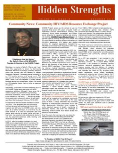"The article, ""Obedience Has No Status"" was written in response to a request from Hidden Strengths Support Ministry, Inc., Bowie, Maryland USA.  With HIV/AIDS as the topic, the author was asked to write an article for the organization's quarterly publication, ""Hidden Strengths"". Here, you will find the article, ""Obedience Has No Status"" reprinted with permission from Hidden Strengths Support Ministry, Inc. Please feel free to download the article, ""Obedience Has No Status""."