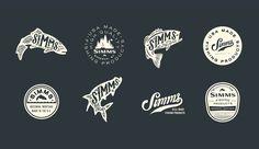Fort Collins Graphic Design, logo design, | Kroneberger Design — Simms Fishing…