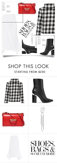"""My Mood Today"" by lidia-solymosi ❤ liked on Polyvore featuring TIBI, Alexander Wang, Loewe, Jennifer Fisher and Sid Neigum"