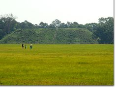 Kolomoki Mounds Historic Park in Blakely, GA. This historically significant park is the oldest and largest Woodland Indian site in the southeastern United States, occupied by American Indians from 350 to 750 a.d.