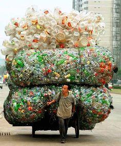 Lixo para reciclar
