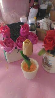 Kerajinan Tangan Dari Sabun Mandi Bungasabun Caramembuatbungadarisabun Membuat Bunga Tulip Dari Sabun Bunga Tulip Bunga Lencana