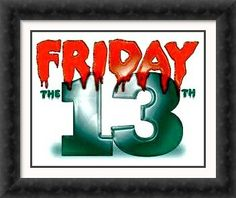 Happy Friday the Friday The 13th 2, Friday The 13th Tattoo, Thursday Friday, Lucky 7, Lucky Number, Number 13, Days Of Week, Finally Friday, Finger Tats