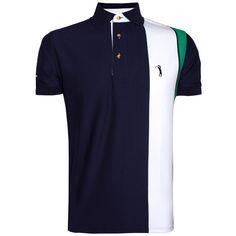 Camisa Polo Aleatory Listrada Rank - Aleatory Mens Polo T Shirts 0061d9ceb2b13