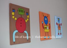 robot paintings | life of kamm