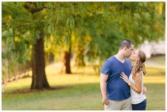 Mellon Park engagement session in Pittsburgh, PA | Kelly Adrienne Photography