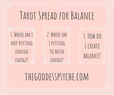 Tarot Spreads Beginners Discover Tarot Spread for Balance Pilates Workout, Tarot Cards For Beginners, Reading For Beginners, Tarot Card Spreads, 3 Card Tarot Spread, Witchcraft For Beginners, Tarot Astrology, Oracle Tarot, Tarot Card Meanings