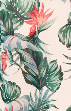 Bridesmaids Fabric Swatch ~ Kauai Kisses