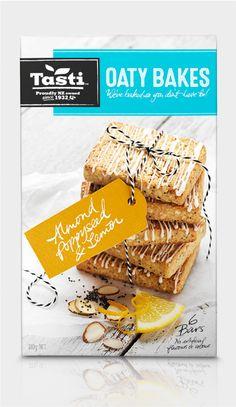 Snack food packaging design for supermarket brand