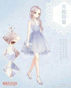 love nikki dress up queen Anime Girl Dress, Anime Girl Pink, Anime Outfits, Girl Outfits, Kleidung Design, Nikki Love, Estilo Anime, Fantasy Dress, Character Outfits