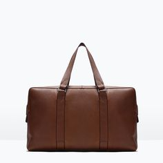 ZARA - COLLECTION AW15 - LEATHER BOWLING BAG