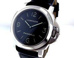 ! PANERAI PAM 112 STEEL 44 mm LUMINOR BASE PAM 00112