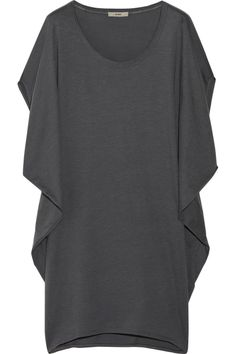 Modal and cotton-blend dress by Helmut Lang