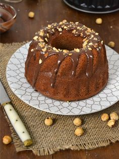 Cuuking! Recetas de cocina: Bundt cake de Nutella