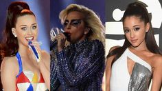 Katy Perry Ariana Grande and More Stars Praise Lady Gaga's Super Bowl Halftime Show Performance