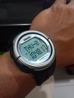 my #skmei #watches #padometer #pesanbeli