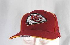cdf198d57 Kansas City Chiefs Red White Baseball Cap Snapback ( NFL 26 ).