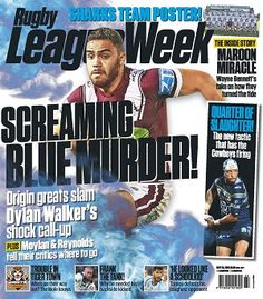 #RugbyLeagueWeek #magazines #covers #2016 #May #footy