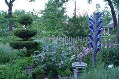 sweet cottage garden  ~Tulsa