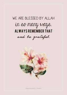 Alhamdulillah so much!