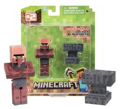 Minecraft Blacksmith Villager with Anvil New in Package #minecraft #playing #game Minecraft overworld How to play minecraft Minecraft