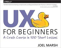 """UX for Beginners"" Book Giveaway"
