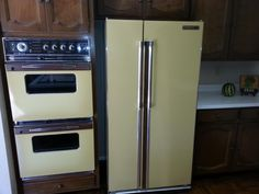 original vintage old double oven 1970s Phoenix Arizona homes houses for sale real estate photo